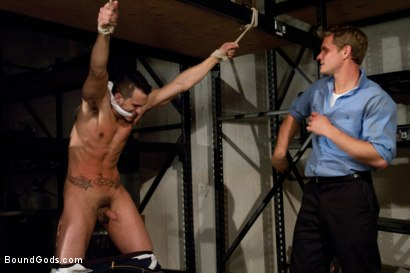 Photo number 4 from Phenix Saint gets his ass violated for the first time on Bound Gods. shot for Bound Gods on Kink.com. Featuring Trent Diesel and Phenix Saint in hardcore BDSM & Fetish porn.