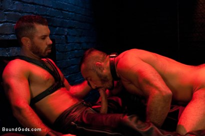 Photo number 11 from Damien Stone shot for Bound Gods on Kink.com. Featuring Alessio Romero and Damien Stone in hardcore BDSM & Fetish porn.