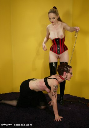 Photo number 4 from Nina and Chanta-Rose shot for Whipped Ass on Kink.com. Featuring Nina and Chanta-Rose in hardcore BDSM & Fetish porn.
