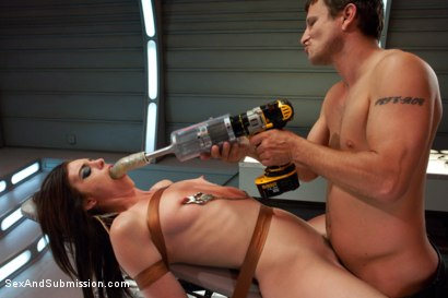 Photo number 9 from Shy Girl Returns shot for Sex And Submission on Kink.com. Featuring Riley Shy and Mr. Pete in hardcore BDSM & Fetish porn.