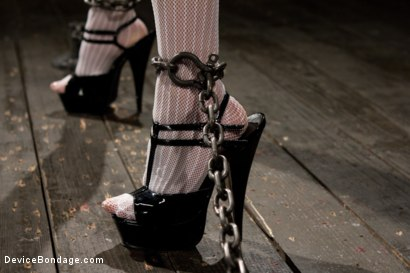 Photo number 4 from Never too hot to be used and abused  shot for Device Bondage on Kink.com. Featuring Asphyxia Noir in hardcore BDSM & Fetish porn.