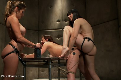 Photo number 13 from Screaming Toughgirl shot for Wired Pussy on Kink.com. Featuring Bobbi Starr, Felony and Ten in hardcore BDSM & Fetish porn.