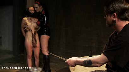Photo number 11 from The Destruction of Juliette March shot for The Upper Floor on Kink.com. Featuring Juliette March and Sophie Monroe in hardcore BDSM & Fetish porn.