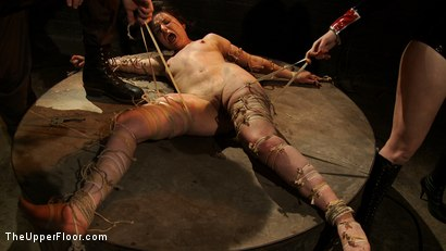 Photo number 3 from The Destruction of Juliette March shot for The Upper Floor on Kink.com. Featuring Juliette March and Sophie Monroe in hardcore BDSM & Fetish porn.