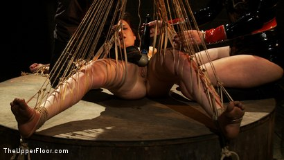 Photo number 6 from The Destruction of Juliette March shot for The Upper Floor on Kink.com. Featuring Juliette March and Sophie Monroe in hardcore BDSM & Fetish porn.