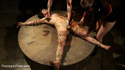 Photo number 7 from The Destruction of Juliette March shot for The Upper Floor on Kink.com. Featuring Juliette March and Sophie Monroe in hardcore BDSM & Fetish porn.