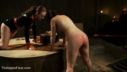 Photo number 17 from The Destruction of Juliette March shot for The Upper Floor on Kink.com. Featuring Juliette March and Sophie Monroe in hardcore BDSM & Fetish porn.