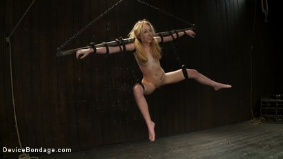 Photo number 12 from Suspended, Whipped and Face-fucked shot for Device Bondage on Kink.com. Featuring Emma Haize, Isis Love and Mickey Mod in hardcore BDSM & Fetish porn.