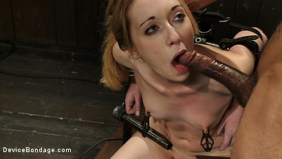 Photo number 1 from Her mouth hole is the pleasure zone shot for Device Bondage on Kink.com. Featuring Emma Haize, Isis Love and Mickey Mod in hardcore BDSM & Fetish porn.