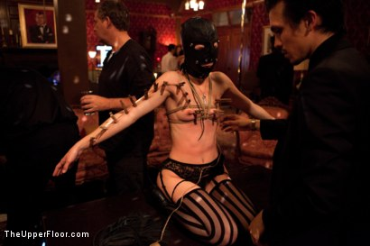 Photo number 2 from A Celebration for Jack Hammer shot for The Upper Floor on Kink.com. Featuring Sophie Monroe, Jack Hammer, Maestro Stefanos, Iona Grace, Sparky Sin Claire, Nerine Mechanique and Jessie Cox in hardcore BDSM & Fetish porn.