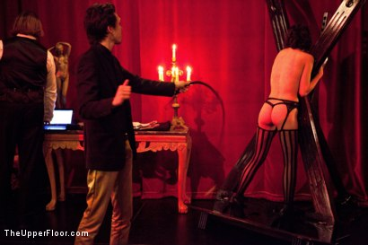 Photo number 13 from A Celebration for Jack Hammer shot for The Upper Floor on Kink.com. Featuring Sophie Monroe, Jack Hammer, Maestro Stefanos, Iona Grace, Sparky Sin Claire, Nerine Mechanique and Jessie Cox in hardcore BDSM & Fetish porn.