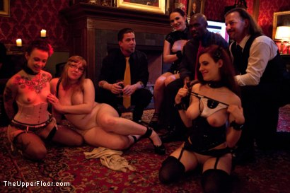 Photo number 15 from A Celebration for Jack Hammer shot for The Upper Floor on Kink.com. Featuring Sophie Monroe, Jack Hammer, Maestro Stefanos, Iona Grace, Sparky Sin Claire, Nerine Mechanique and Jessie Cox in hardcore BDSM & Fetish porn.