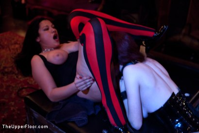 Photo number 16 from A Celebration for Jack Hammer shot for The Upper Floor on Kink.com. Featuring Sophie Monroe, Jack Hammer, Maestro Stefanos, Iona Grace, Sparky Sin Claire, Nerine Mechanique and Jessie Cox in hardcore BDSM & Fetish porn.