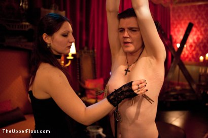 Photo number 3 from A Celebration for Jack Hammer shot for The Upper Floor on Kink.com. Featuring Sophie Monroe, Jack Hammer, Maestro Stefanos, Iona Grace, Sparky Sin Claire, Nerine Mechanique and Jessie Cox in hardcore BDSM & Fetish porn.