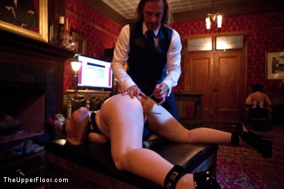 Photo number 5 from A Celebration for Jack Hammer shot for The Upper Floor on Kink.com. Featuring Sophie Monroe, Jack Hammer, Maestro Stefanos, Iona Grace, Sparky Sin Claire, Nerine Mechanique and Jessie Cox in hardcore BDSM & Fetish porn.