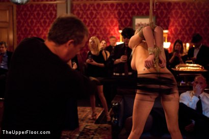 Photo number 8 from A Celebration for Jack Hammer shot for The Upper Floor on Kink.com. Featuring Sophie Monroe, Jack Hammer, Maestro Stefanos, Iona Grace, Sparky Sin Claire, Nerine Mechanique and Jessie Cox in hardcore BDSM & Fetish porn.
