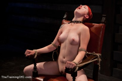 Photo number 15 from Sloane Soleil Day 2<br>Extreme Torture and Inescapable Bondage shot for The Training Of O on Kink.com. Featuring Sloane Soleil in hardcore BDSM & Fetish porn.