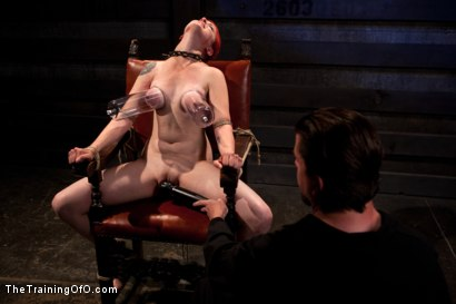 Photo number 4 from Sloane Soleil Day 2<br>Extreme Torture and Inescapable Bondage shot for The Training Of O on Kink.com. Featuring Sloane Soleil in hardcore BDSM & Fetish porn.