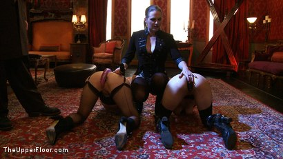 Photo number 3 from Service Day: Unexpected Guests shot for The Upper Floor on Kink.com. Featuring Iona Grace and Sparky Sin Claire in hardcore BDSM & Fetish porn.