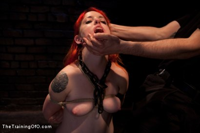 Photo number 1 from Sloane Soleil Day 3<br>Extreme Endurance Test with a Cock Sucking Reward shot for The Training Of O on Kink.com. Featuring Sloane Soleil and Maestro in hardcore BDSM & Fetish porn.