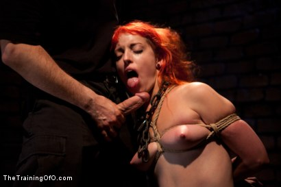 Photo number 10 from Sloane Soleil Day 3<br>Extreme Endurance Test with a Cock Sucking Reward shot for The Training Of O on Kink.com. Featuring Sloane Soleil and Maestro in hardcore BDSM & Fetish porn.