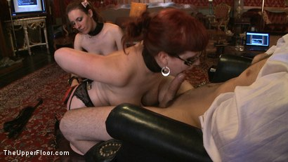 Photo number 7 from Service Day: Domme Training shot for The Upper Floor on Kink.com. Featuring Iona Grace, Nerine Mechanique and Maestro in hardcore BDSM & Fetish porn.