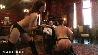 Photo number 12 from Service Day: Domme Training shot for The Upper Floor on Kink.com. Featuring Iona Grace, Nerine Mechanique and Maestro in hardcore BDSM & Fetish porn.