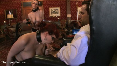 Photo number 13 from Service Day: Domme Training shot for The Upper Floor on Kink.com. Featuring Iona Grace, Nerine Mechanique and Maestro in hardcore BDSM & Fetish porn.
