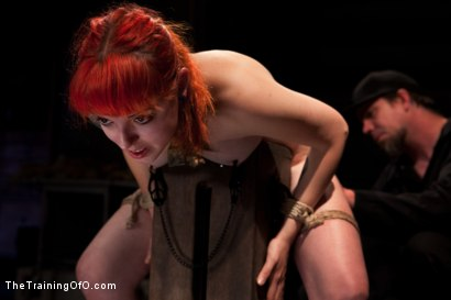 Photo number 6 from Sloane Soleil Day 4<br>Orgasm Control and Preperation for Cock shot for The Training Of O on Kink.com. Featuring Sloane Soleil in hardcore BDSM & Fetish porn.