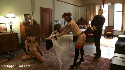 Photo number 2 from Service Day: Missy Minks shot for The Upper Floor on Kink.com. Featuring Sparky Sin Claire and Missy Minks in hardcore BDSM & Fetish porn.