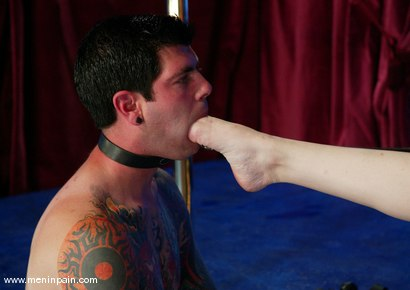 Photo number 11 from Diablo and Princess Kali shot for Men In Pain on Kink.com. Featuring Princess Kali and Daemon in hardcore BDSM & Fetish porn.