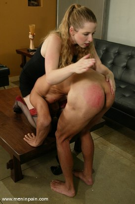 Photo number 8 from Princess Kali and Reggie Yee shot for Men In Pain on Kink.com. Featuring Princess Kali and Reggie Yee in hardcore BDSM & Fetish porn.