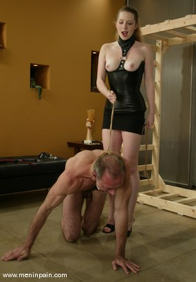 Photo number 6 from Billy Budd and Princess Kali shot for Men In Pain on Kink.com. Featuring Billy Budd and Princess Kali in hardcore BDSM & Fetish porn.