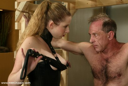 Photo number 1 from Billy Budd and Princess Kali shot for Men In Pain on Kink.com. Featuring Billy Budd and Princess Kali in hardcore BDSM & Fetish porn.