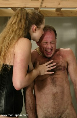 Photo number 12 from Billy Budd and Princess Kali shot for Men In Pain on Kink.com. Featuring Billy Budd and Princess Kali in hardcore BDSM & Fetish porn.