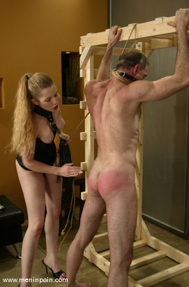 Photo number 15 from Billy Budd and Princess Kali shot for Men In Pain on Kink.com. Featuring Billy Budd and Princess Kali in hardcore BDSM & Fetish porn.