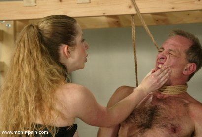 Photo number 4 from Billy Budd and Princess Kali shot for Men In Pain on Kink.com. Featuring Billy Budd and Princess Kali in hardcore BDSM & Fetish porn.
