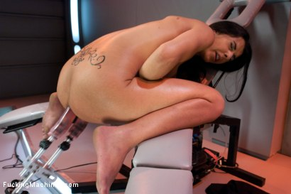 Photo number 14 from Word of the Day: Bigger shot for Fucking Machines on Kink.com. Featuring Lou Charmelle in hardcore BDSM & Fetish porn.