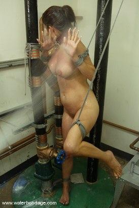 Photo number 2 from Sasha Monet shot for Water Bondage on Kink.com. Featuring Sasha Monet in hardcore BDSM & Fetish porn.