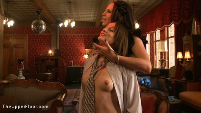 Photo number 4 from Sophie's Tea Party shot for The Upper Floor on Kink.com. Featuring Sophie Monroe, Jessie Cox, Kylie Liddell, Iona Grace, Sparky Sin Claire, Nerine Mechanique and Lilla Katt in hardcore BDSM & Fetish porn.