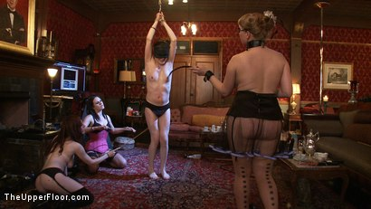 Photo number 6 from Sophie's Tea Party shot for The Upper Floor on Kink.com. Featuring Sophie Monroe, Jessie Cox, Kylie Liddell, Iona Grace, Sparky Sin Claire, Nerine Mechanique and Lilla Katt in hardcore BDSM & Fetish porn.