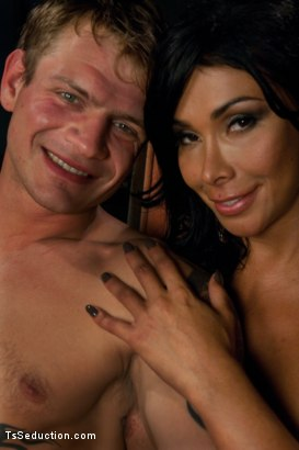 Photo number 15 from Finally, Vaniity: Her Toy, Her Dungeon, Her Rules shot for TS Seduction on Kink.com. Featuring Trent Diesel and Vaniity in hardcore BDSM & Fetish porn.