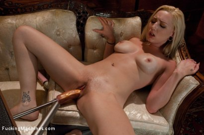 Photo number 7 from A+ Shag: <br> Machine Fucking the Nanny shot for Fucking Machines on Kink.com. Featuring Rylie Richman in hardcore BDSM & Fetish porn.