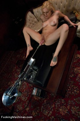 Photo number 15 from Home Alone and Horny: Machine Fucking a New Girl shot for Fucking Machines on Kink.com. Featuring Rylie Richman in hardcore BDSM & Fetish porn.