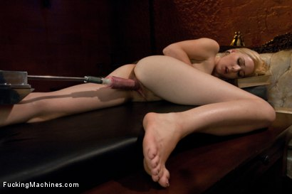 Photo number 6 from Home Alone and Horny: Machine Fucking a New Girl shot for Fucking Machines on Kink.com. Featuring Rylie Richman in hardcore BDSM & Fetish porn.