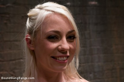 Photo number 15 from Public Gangbang 1 shot for Bound Gang Bangs on Kink.com. Featuring Lorelei Lee in hardcore BDSM & Fetish porn.