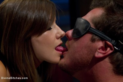 Photo number 2 from Classic Archive Shoot: Just The Tip! shot for Divine Bitches on Kink.com. Featuring Parker London and Maitresse Madeline Marlowe in hardcore BDSM & Fetish porn.