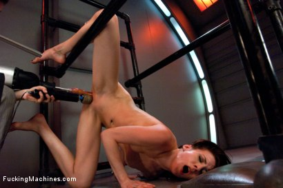 Photo number 8 from Certified Bad Ass <br> Machine Fucking a Stunt Woman shot for Fucking Machines on Kink.com. Featuring Aiden Ashley in hardcore BDSM & Fetish porn.