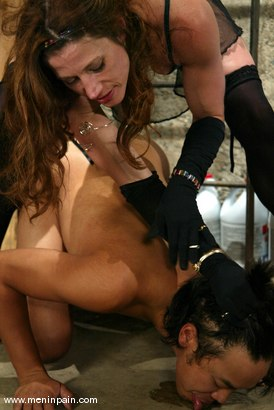 Photo number 7 from Kym Wilde and Saba shot for Men In Pain on Kink.com. Featuring Kym Wilde and Saba in hardcore BDSM & Fetish porn.