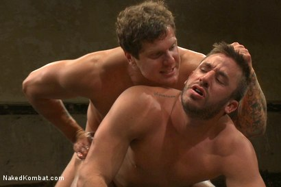 Photo number 10 from Parker London vs Logan Scott shot for Naked Kombat on Kink.com. Featuring Parker London and Logan Scott in hardcore BDSM & Fetish porn.